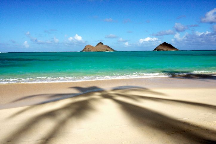 Lanikai Beach Kailua Hawaii United States