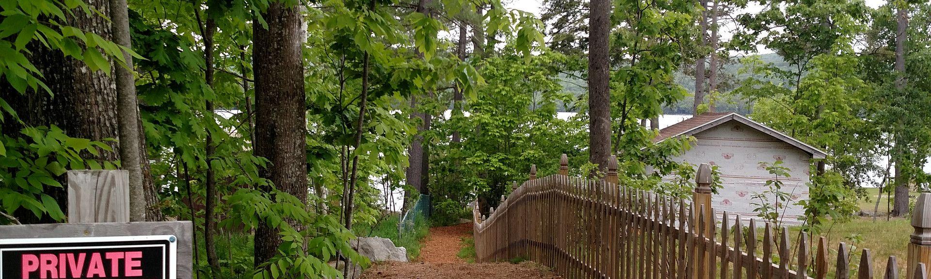 Maranacook Lake, Winthrop, Maine, Verenigde Staten
