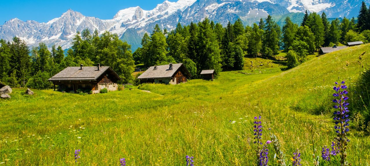 Les Houches, Rhône-Alpes, France