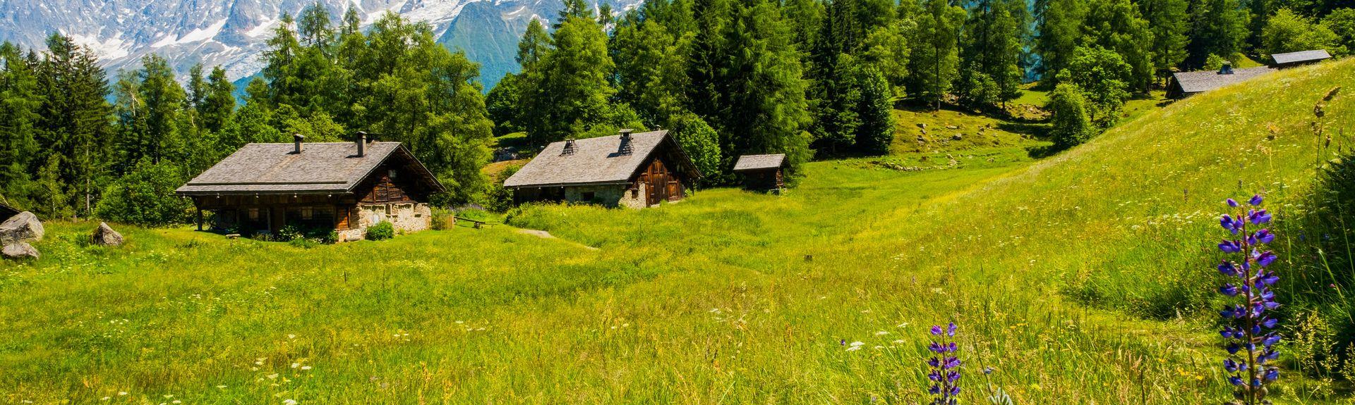 Les Houches, Haute-Savoie (Département), Frankreich