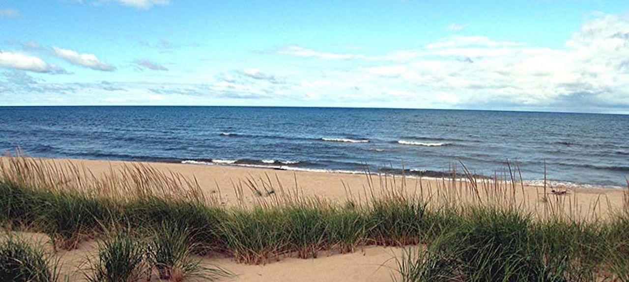 Oval Beach, Saugatuck, Michigan, Stati Uniti d'America