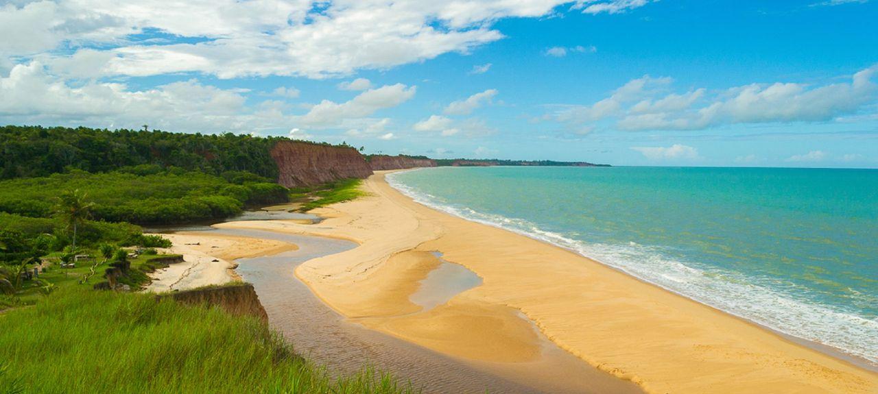 Cumuruxatiba Beach, Cumuruxatiba, Brazil