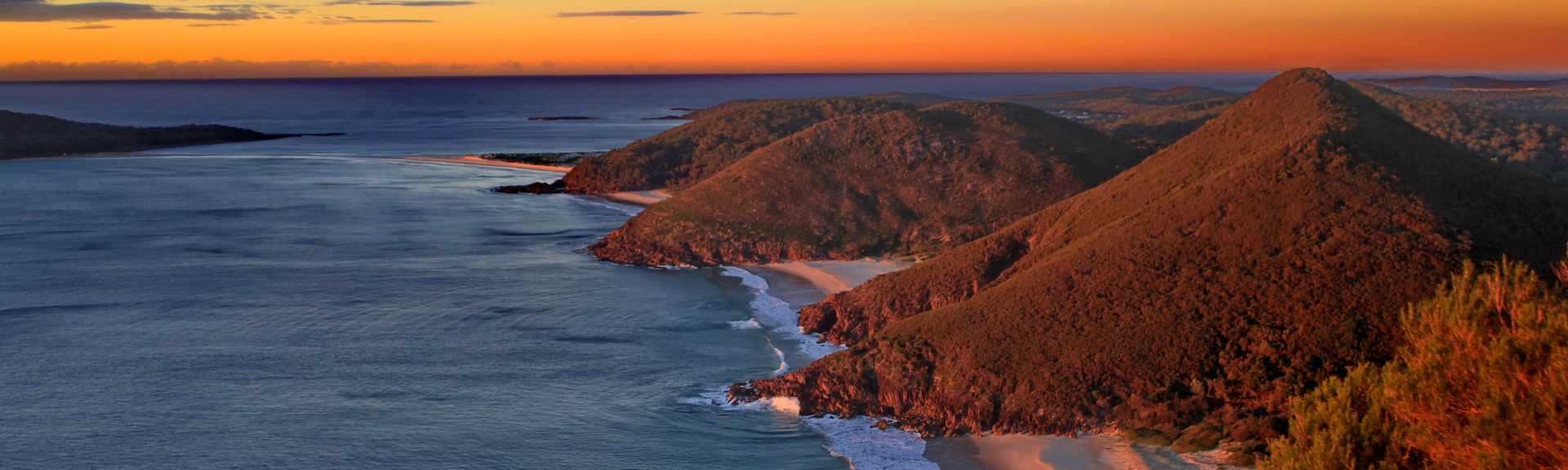 Point Stephens Lighthouse, Fingal Bay, New South Wales, Australia