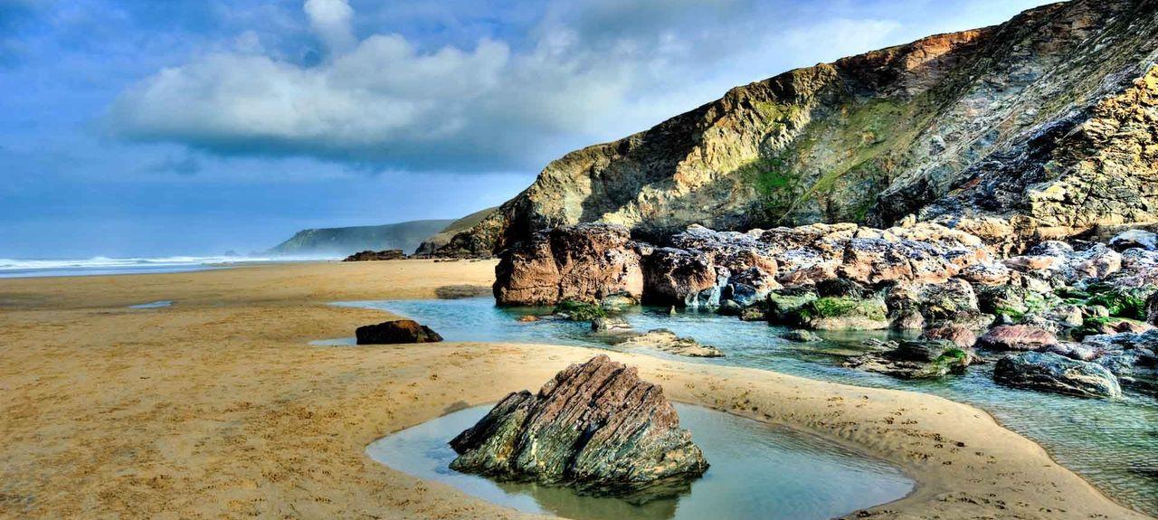 Maenporth Beach, Maenporth, England, United Kingdom