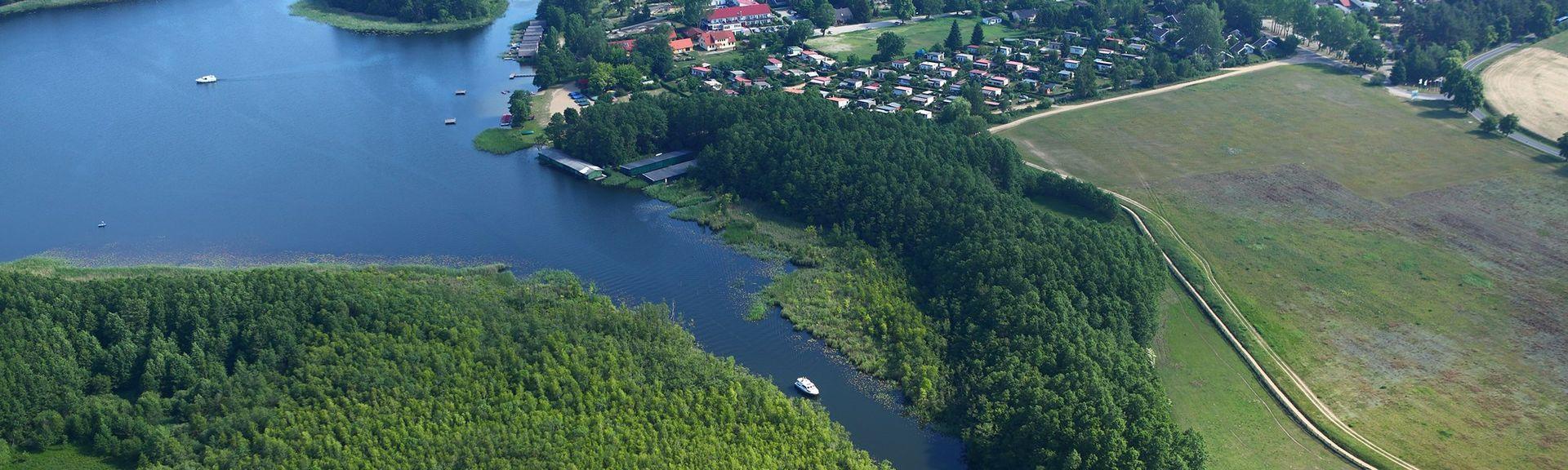 Rheinsberg, Région de Brandenbourg, Allemagne