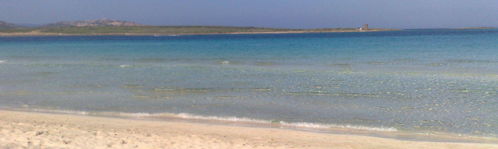 Spiaggia di Platamona, Platamona, Sardegna, Italia