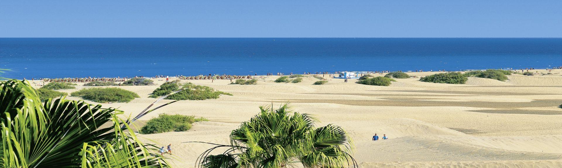 Puerto Rico Beach, Mogan, Spain