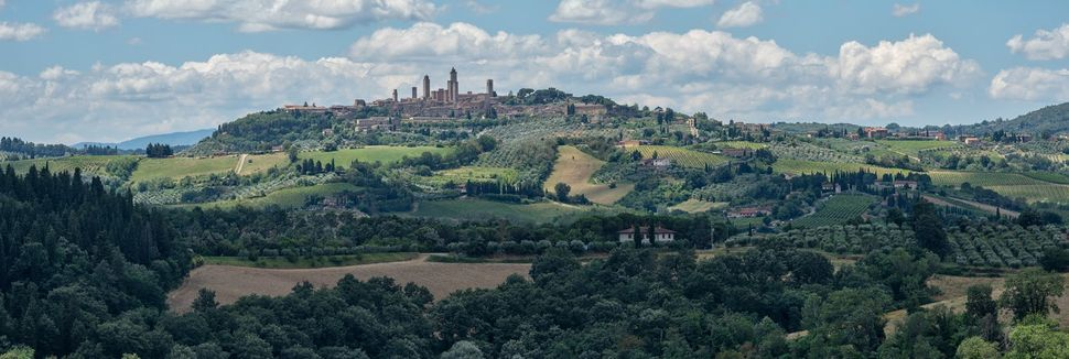 Certaldo, Toscana, Italia