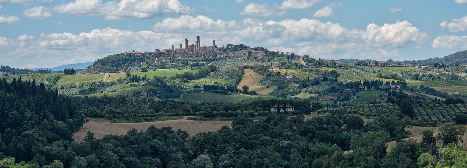 Certaldo, Toskana, Italien
