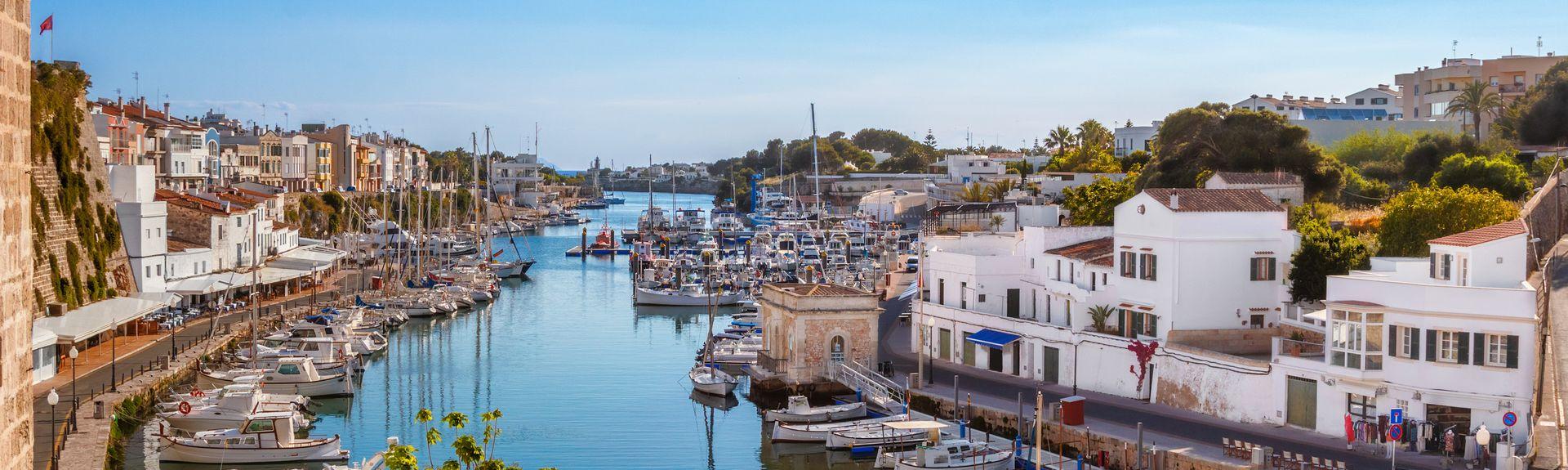 Ciutadella de Menorca, Balearen, Spanje