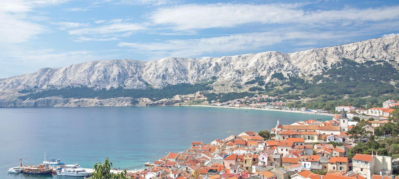 Baska, Żupania primorsko-gorska, Chorwacja