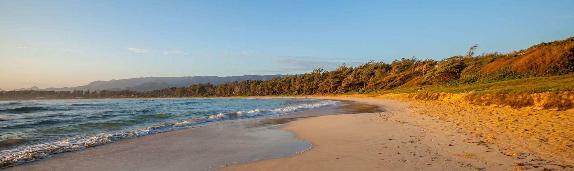 Malaekahana Beach, Hawaii, United States of America