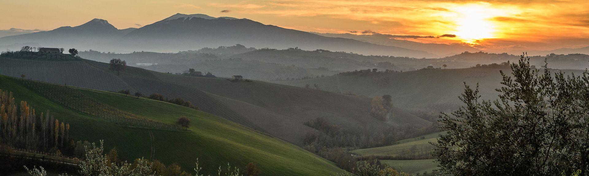 Sant'Omero, Abruzzo, Italië