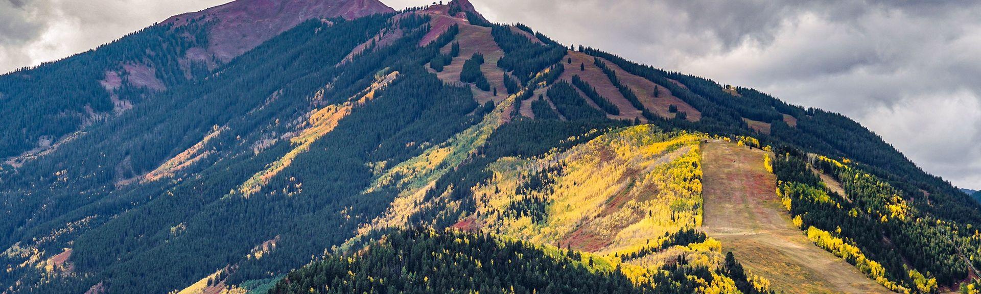 Buttermilk Mountain Ski Area, Aspen, CO, USA