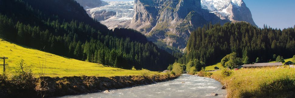 Guttannen, Canton of Bern, Suisse