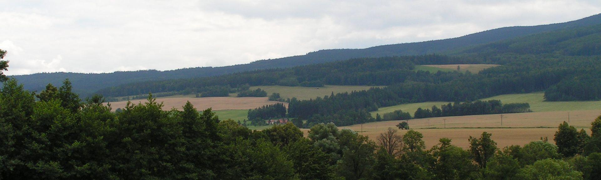 CESKE BUDEJOVICE (Gare), Ceské Budejovice, Bohême-du-Sud, Tchèque