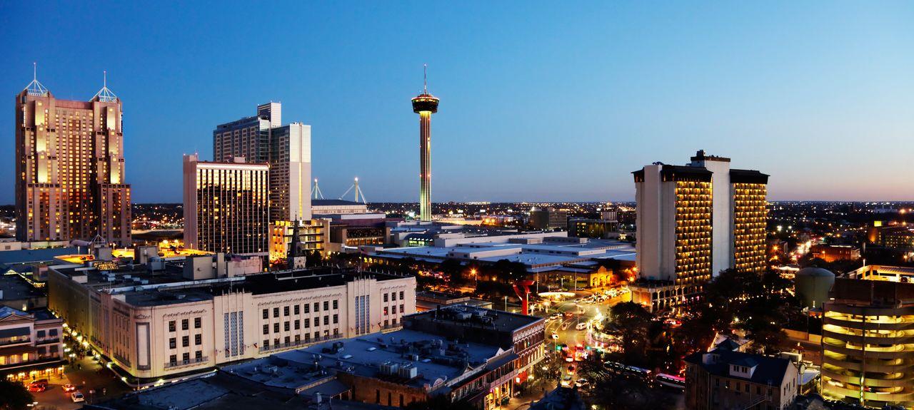 Downtown, San Antonio, Texas, États-Unis d'Amérique