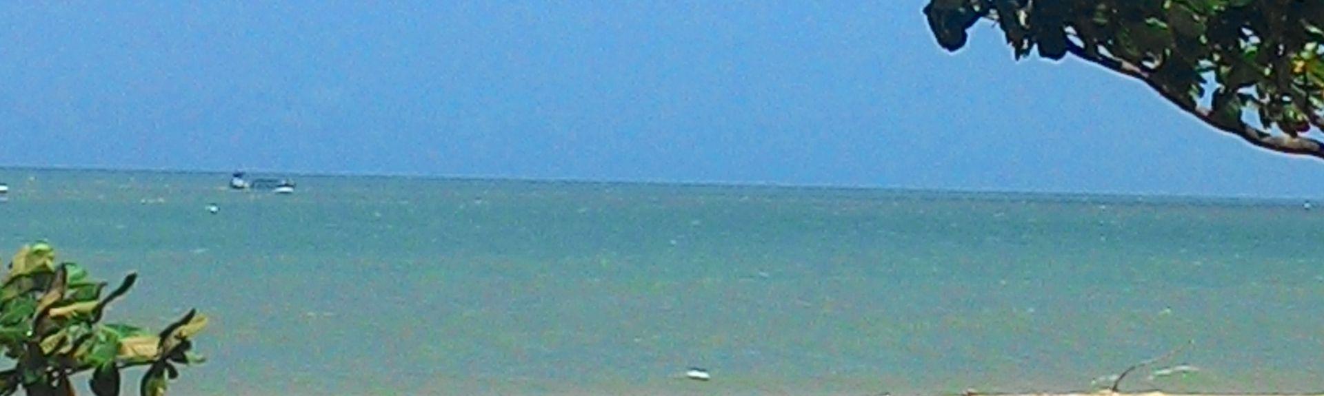 Taperapua Beach, Porto Seguro, Northeast Region, Brazil