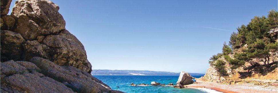 Brelan ranta, Brela, Split-Dalmatia, Kroatia
