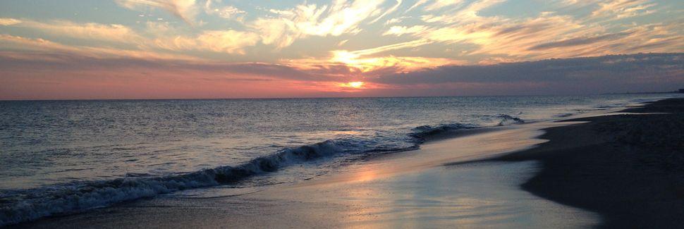 Região costeira da Carolina do Norte, Carolina do Norte, Estados Unidos