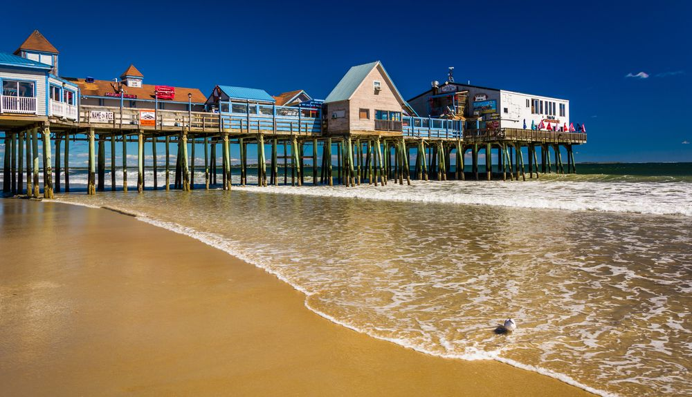 Old Orchard Beach Maine United States