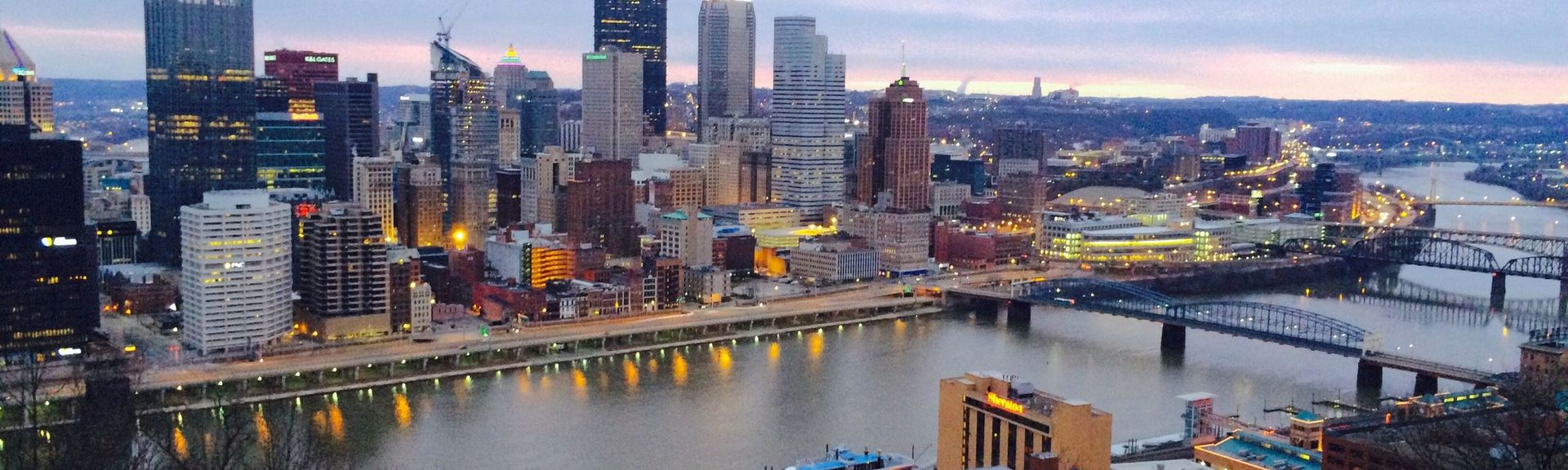 Downtown Pittsburgh, Pittsburgh, Pennsylvania, USA