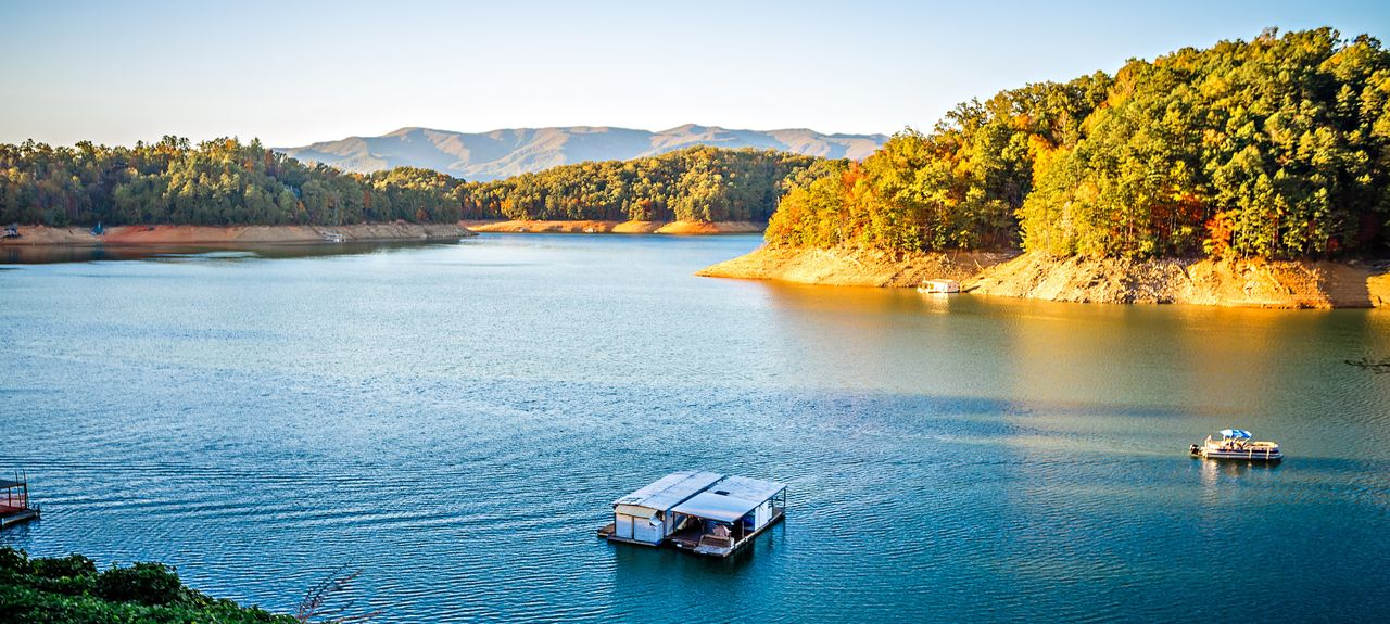 Fontana Lake, North Carolina, USA