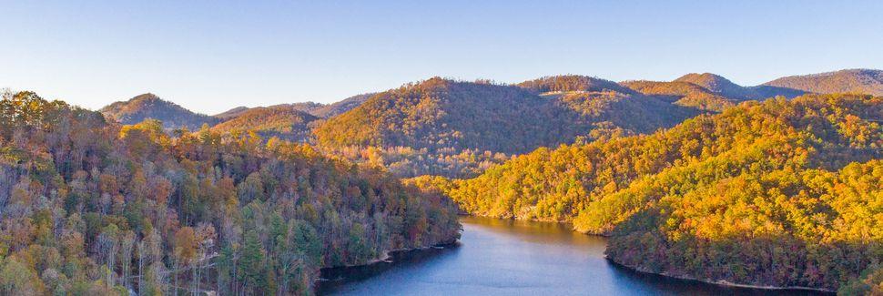 Bear Lake Reserve, Tuckasegee, Caroline du Nord, États-Unis d'Amérique
