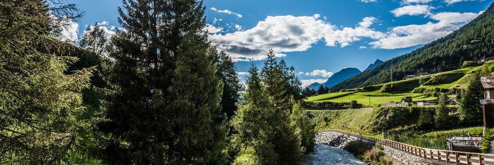 Vinschgau, Trentino-Sydtyrol, Italien