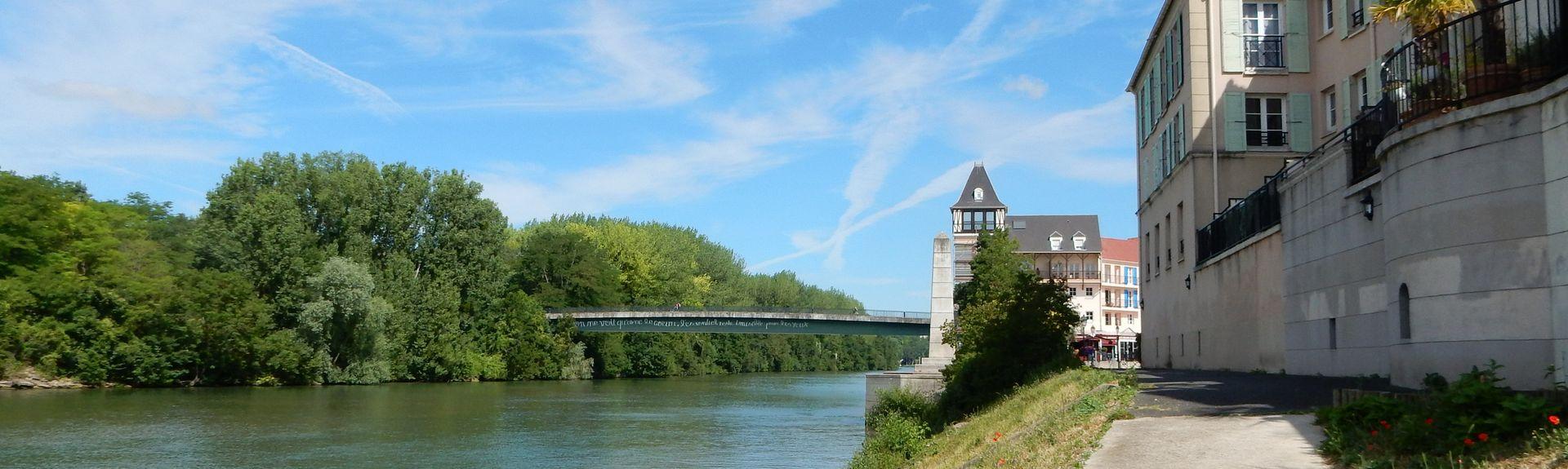Triel-sur-Seine, Iha-de-França, França