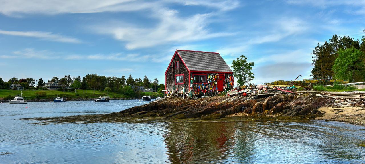 Bailey Island, Harpswell, ME, USA