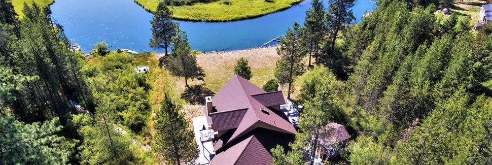 Little Cultus Lake, Deschutes County, OR, USA