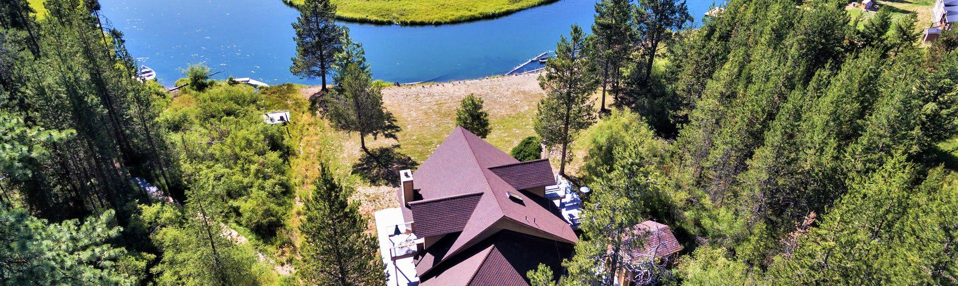 Lago Little Cultus, La Pine, Oregón, Estados Unidos