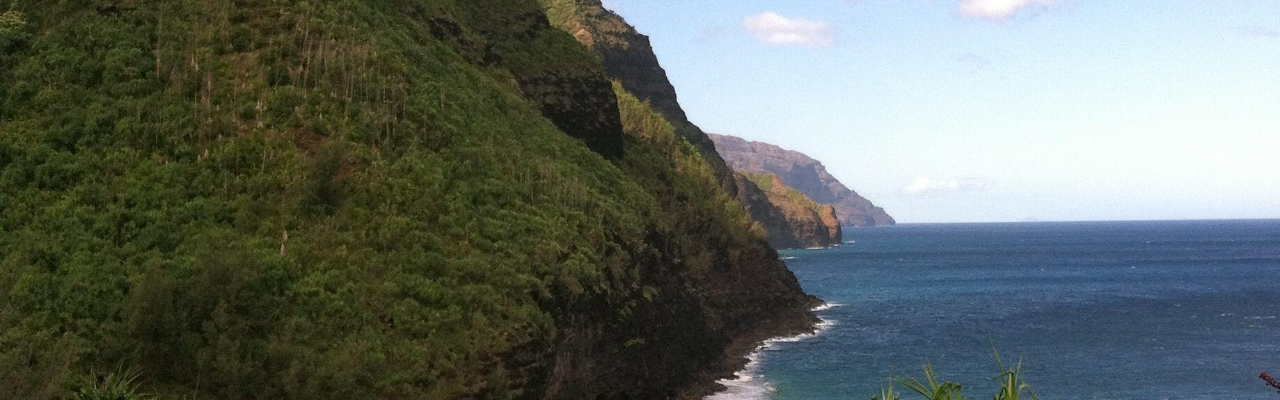 Mirador de Hanalei Valley, Princeville, Hawái, Estados Unidos