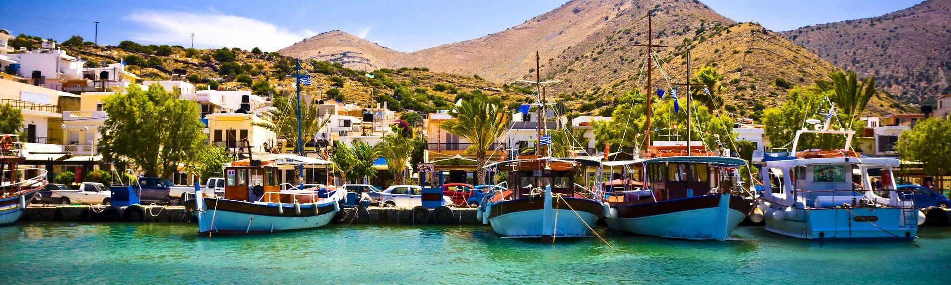 Eloúnda, Agios Nikolaos, Kreta, Grekland