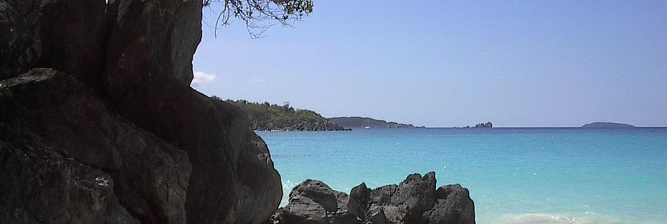 Coral Bay, St. John, Ilhas Virgens E.U.A.