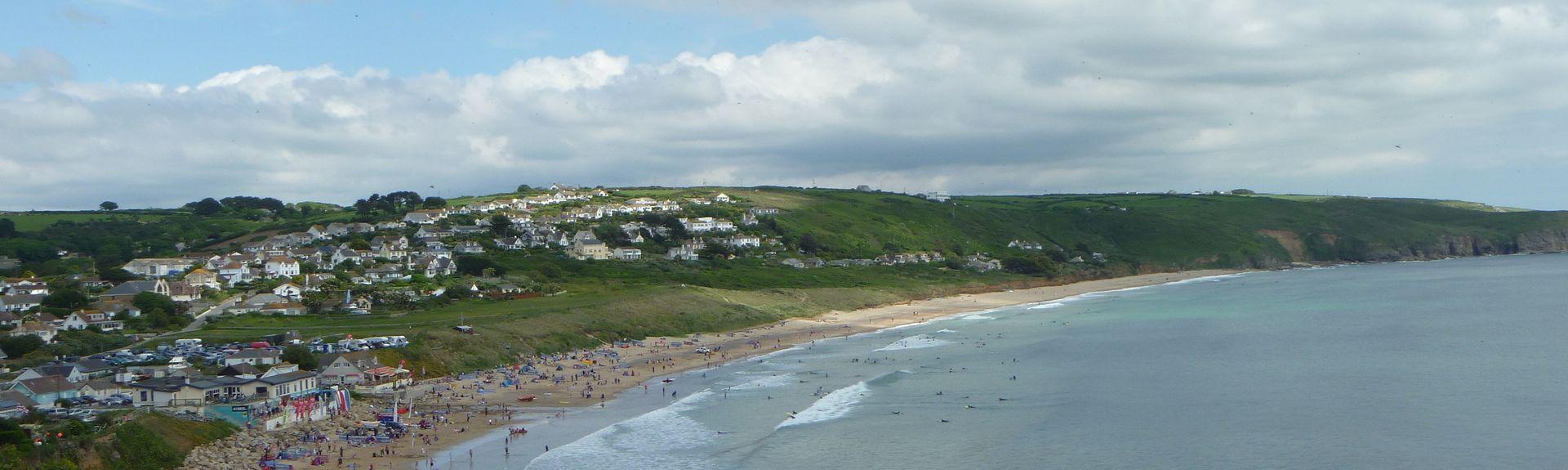 Porthleven Beach (ranta), Englanti, Yhdistynyt Kuningaskunta