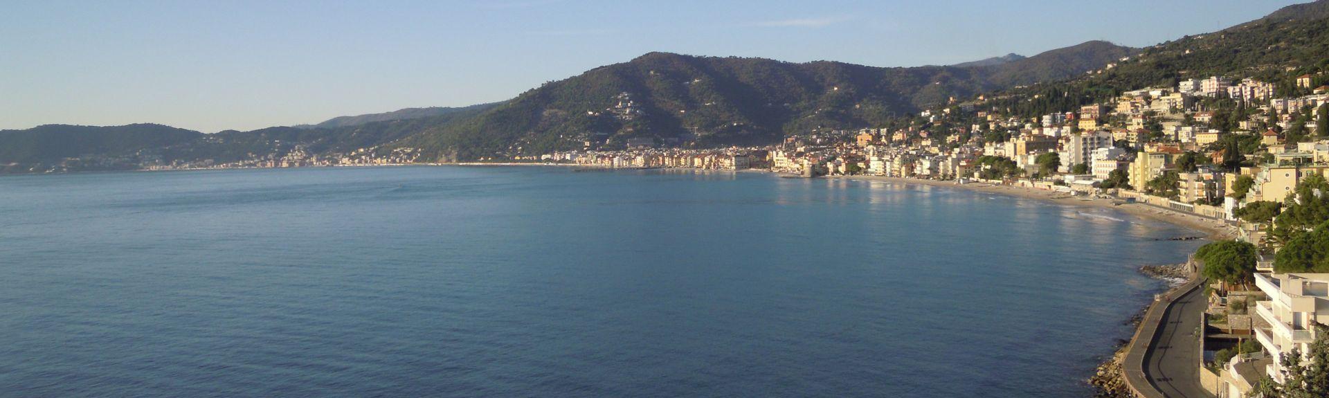 Salea, Albenga, Ligurie, Italie