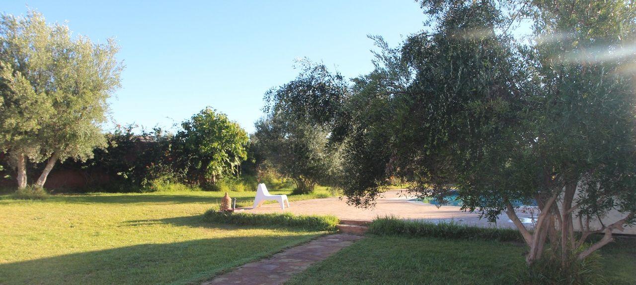 Agdal Gardens, Marrakech, Morocco