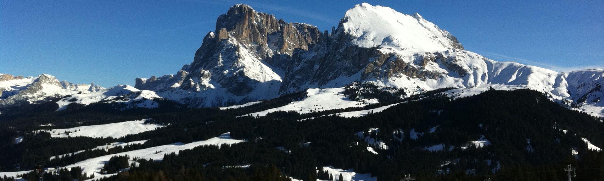 Alta Badia, Trentino-Zuid-Tirol, Italië
