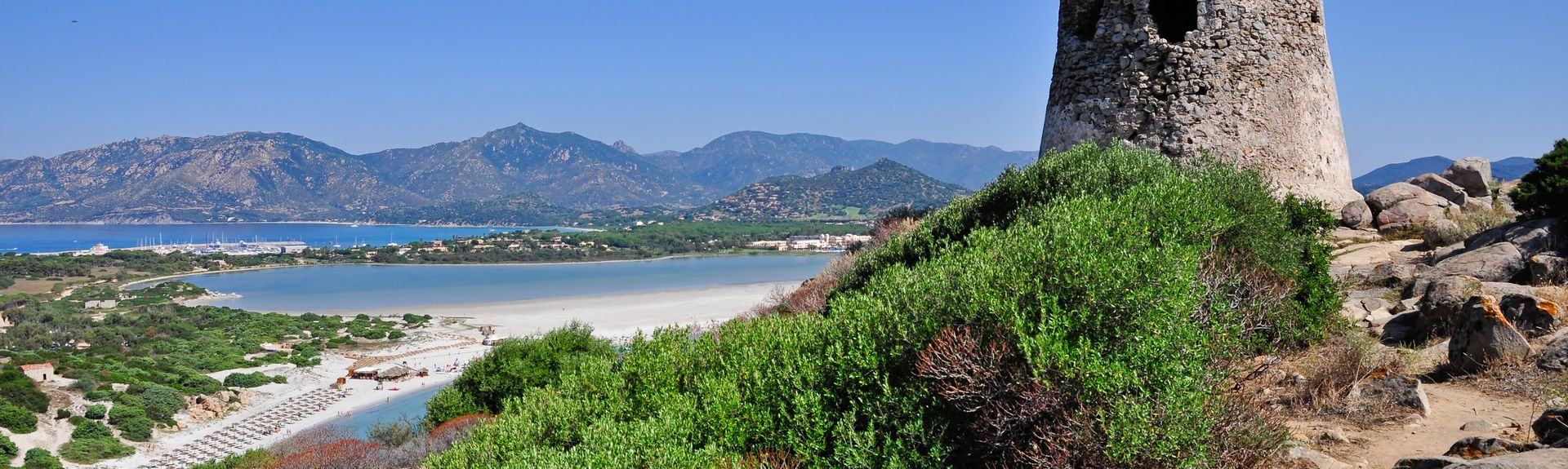 Villasimius, Sardinien, Italien