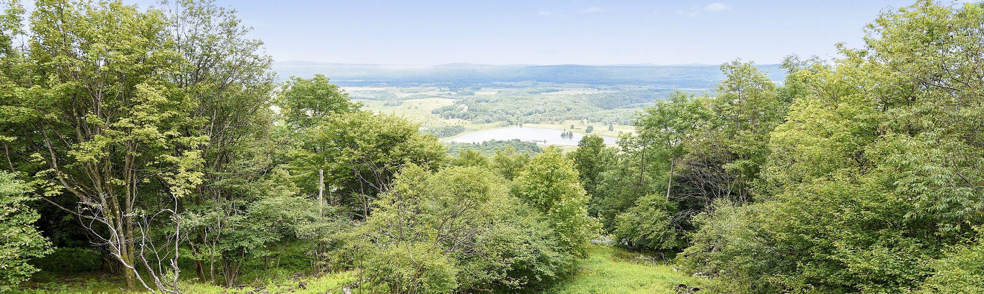 Seneca Rocks, Virginie-Occidentale, États-Unis d'Amérique