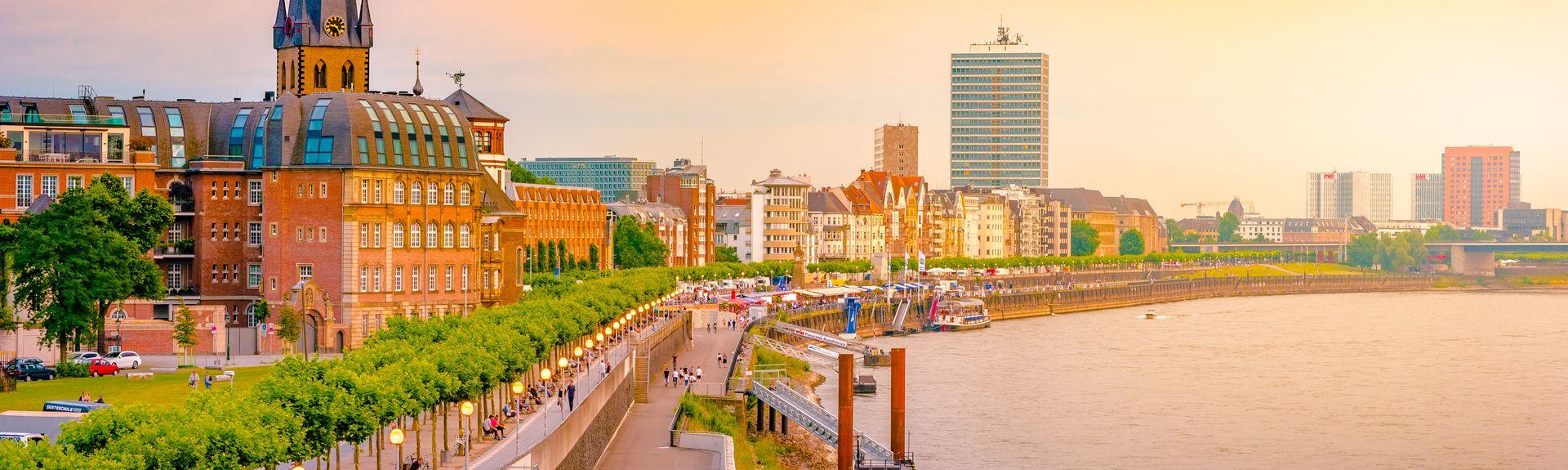 Düsseldorf, Rhénanie-du-Nord-Westphalie, Allemagne