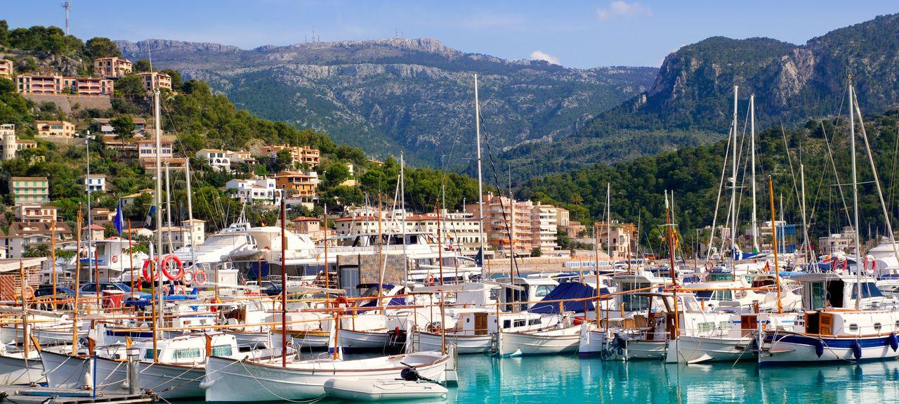 Port de Sóller, Sóller, Baleariske Øer, Spanien