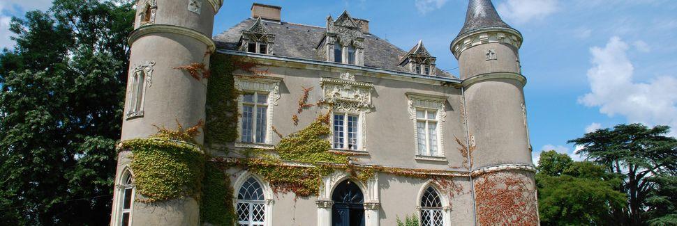 Gennes-sur-Glaize, Pays de la Loire, France
