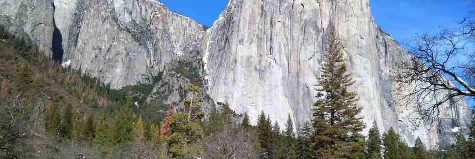 Tunnel View (panorama), Californie, États-Unis d'Amérique
