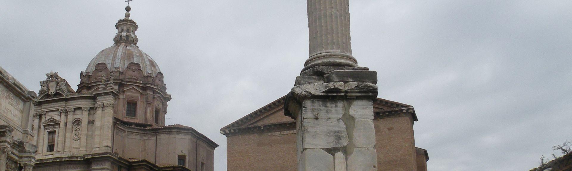 Piazza del Parlamento, Rome, Italy