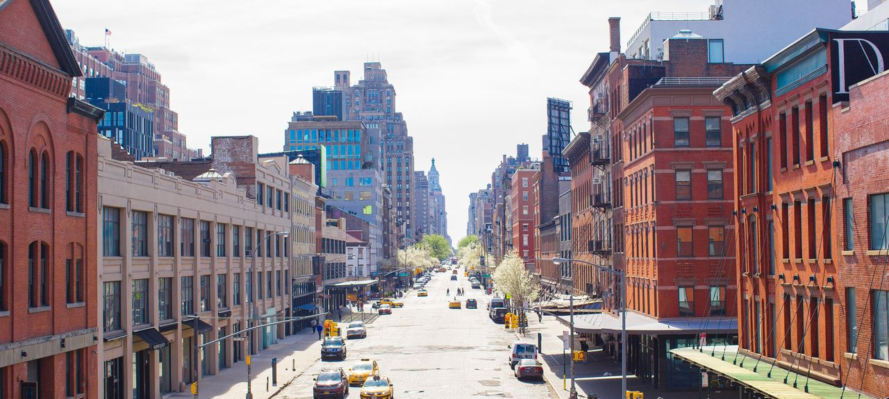 West Village, New York, New York, États-Unis d'Amérique