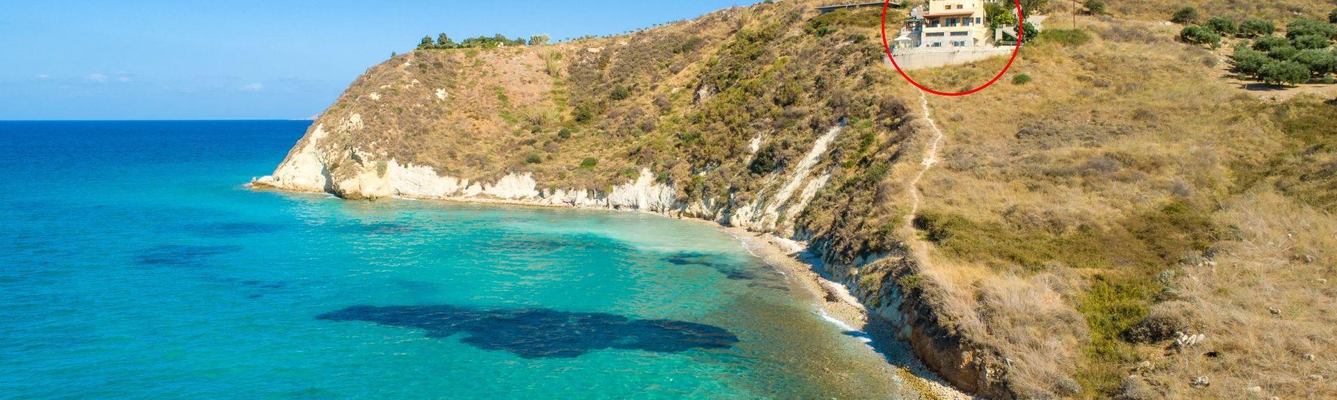 Kryonerida, Crète, Grèce