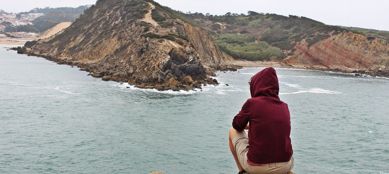 Praia de São Martinho do Porto, São Martinho do Porto, Distrito de Leiria, Portugal